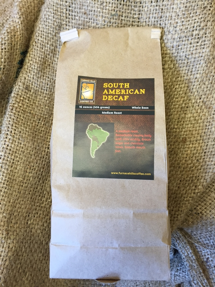 South American Decaf Pound