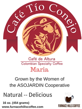 Cafe tio Conejo Maria