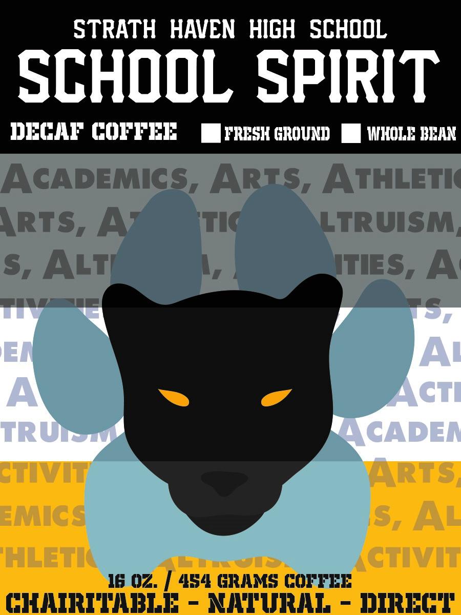Strath Haven School Spirit decaf